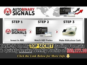 3 steps of Auto Binary Signals